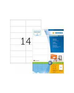 Etikett HERMA Premium 105x41mm 1400/FP