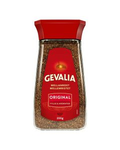 Kaffe GEVALIA snabbkaffe burk 200g