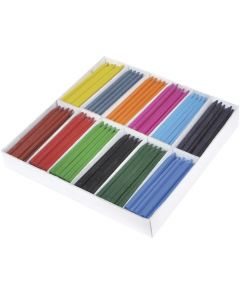 Plastkrita 25x12 färger