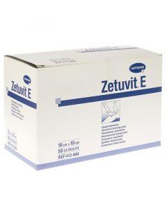 Absorbtionsförb. ZETUVIT E 10x10cm 50/FP