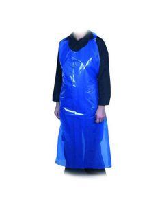 Förkläde blå 850x1300mm påse 100/FP