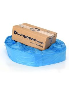 Kassett LONGOPAC Maxi Standard 110m blå