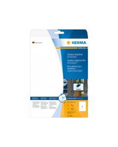 Etikett HERMA Outdoor 210x297mm 10/FP