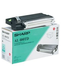 Toner SHARP AL-100TD svart
