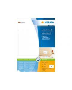 Etikett HERMA Adress A5 148,5x205mm 100/FP