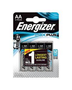 Batteri ENERGIZER Max Plus AA 4/FP