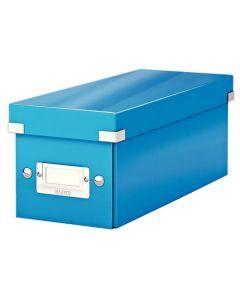 Förvaringslåda CD Click & Store WOW blå