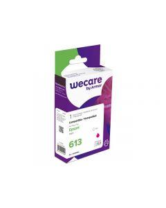 Bläckpatron WECARE EPSON T0613 Magenta