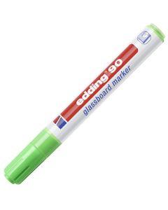 Märkpenna glastavla EDDING 90 ljusgrön