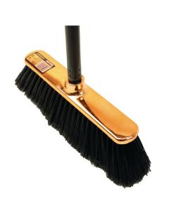 Sopborste Shinybrush orange med skaft