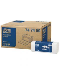 Tvättlapp TORK Adv 6-lag vit 1600/FP
