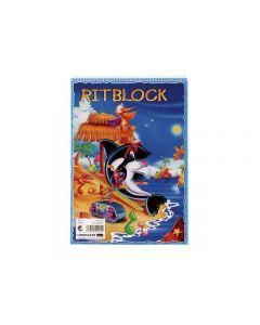 Ritblock A4 80 ark