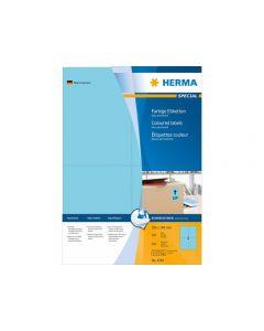 Etikett HERMA Färg blå 105x148mm 400/FP