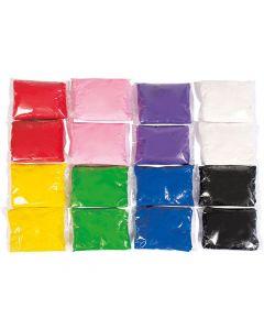 Lättlera  120g x 8 färger