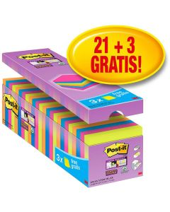 POST-IT SuperSticky 76x76mm 24/FP