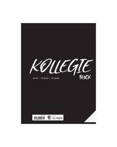 Kollegieblock A4 70g 70 blad rutat