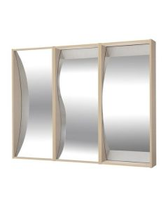 Set med 3 olika Tivolispeglar