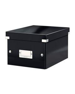 Förvaringslåda Click&Store liten svart