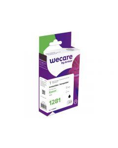 Bläckpatron WECARE EPSON T1281 Svart