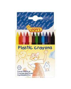 Plastkrita 12 färger