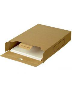 Arkivbox STAPLES A4 brun 50/FP