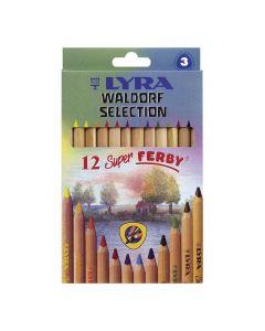 Färgpenna LYRA Waldorf 12 färger