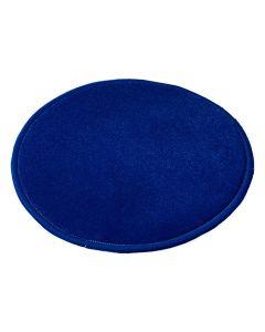 Matta rund 300 cm blå