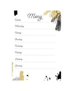 Meny whiteboard - 2484