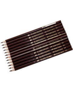 Färgpenna FABER-CASTELL brun 12/FP