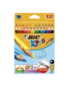 BIC Kids Evolution triangel 12 färger