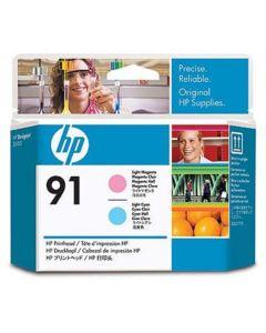 Skrivhuvud HP C9462A 91 Magenta/Cyan