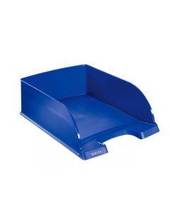 Brevkorg Jumbo LEITZ Plus blå