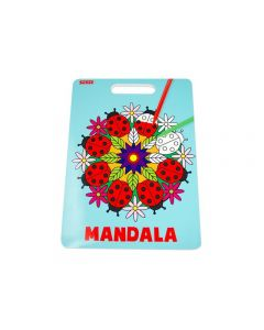 Mandala Målarbok 24 sidor