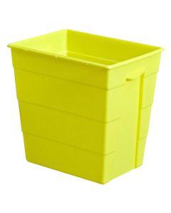Riskavfallsbehållare 30l gul