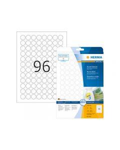 Etikett HERMA Movable rund Ø20mm 2400/FP
