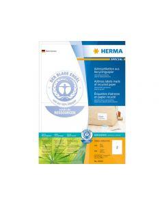 Etikett HERMA Miljö 199,6x143,5mm 200/FP