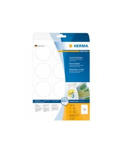 Etikett HERMA Movable rund Ø60mm 300/FP