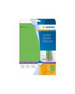 Etikett HERMA Arkiv grön 192x61mm 80/FP