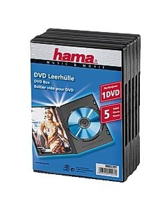 CD/DVD-Fodral HAMA Svart 5/FP
