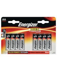 Batteri ENERGIZER Max AA 8/FP