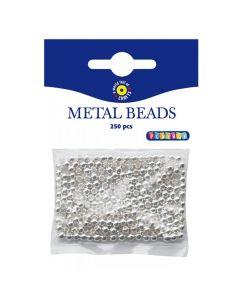 Metallpärlor silver 250/FP
