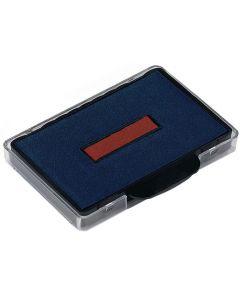 Dynkassett Trodat 6/56 röd/blå 2/FP