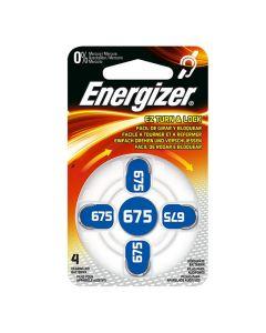 Batteri ENERGIZER hörsel 675 blå 4/FP