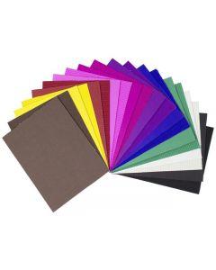 Wellpapp 50x70cm 1 ark x 10 färger