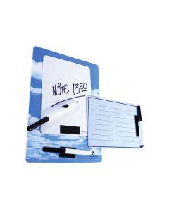 Whiteboard kontorstavla A4 himmel