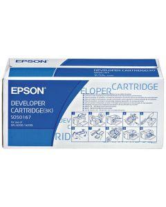 Toner EPSON C13S050167 svart