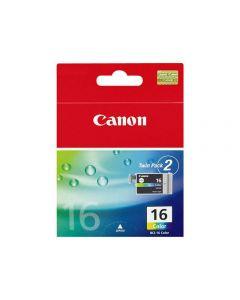Bläckpatron CANON BCI-16C färg 2/FP