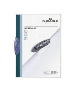 Klämmapp DURABLE Swingclip 2260 A4 blå