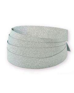 Glitterband Silver 10mm x 100m