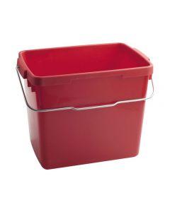 Hink NILFISK fyrkantig röd 6L